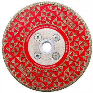 Shaping and cutting disc