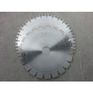 Granite blade for wet cutting