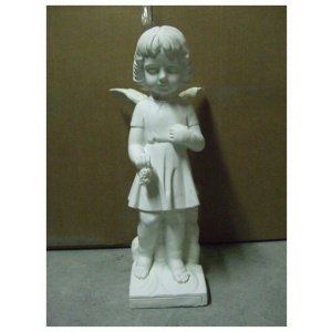 Statue of a girl angel