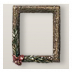 Bronze frame with Rose