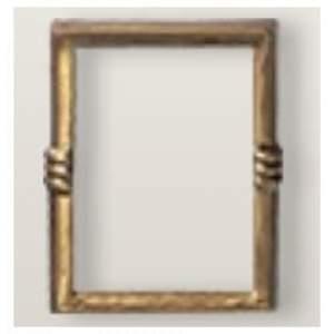 Square bronze frame
